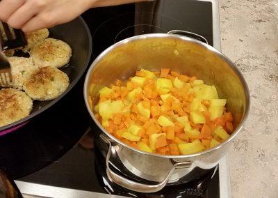 Karotten Kartoffel Püree