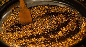 Linsen-Curry mit Süßkartoffeln