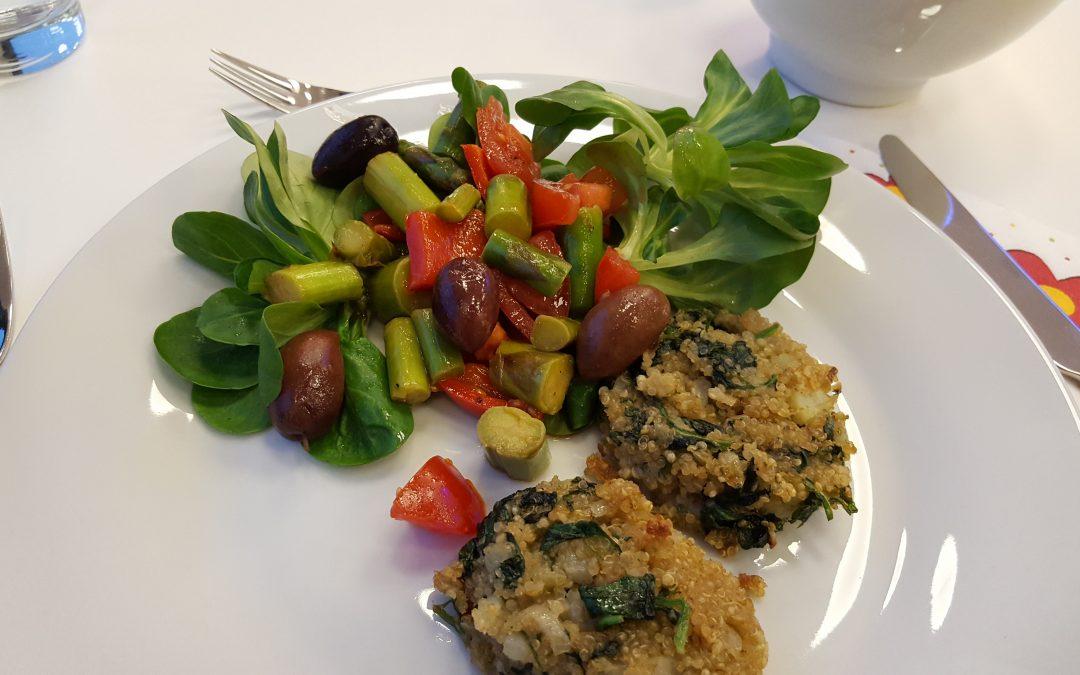 Warmer Spargel Salat
