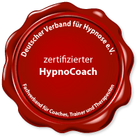 Siegel zertifizierter Hypnosecoach
