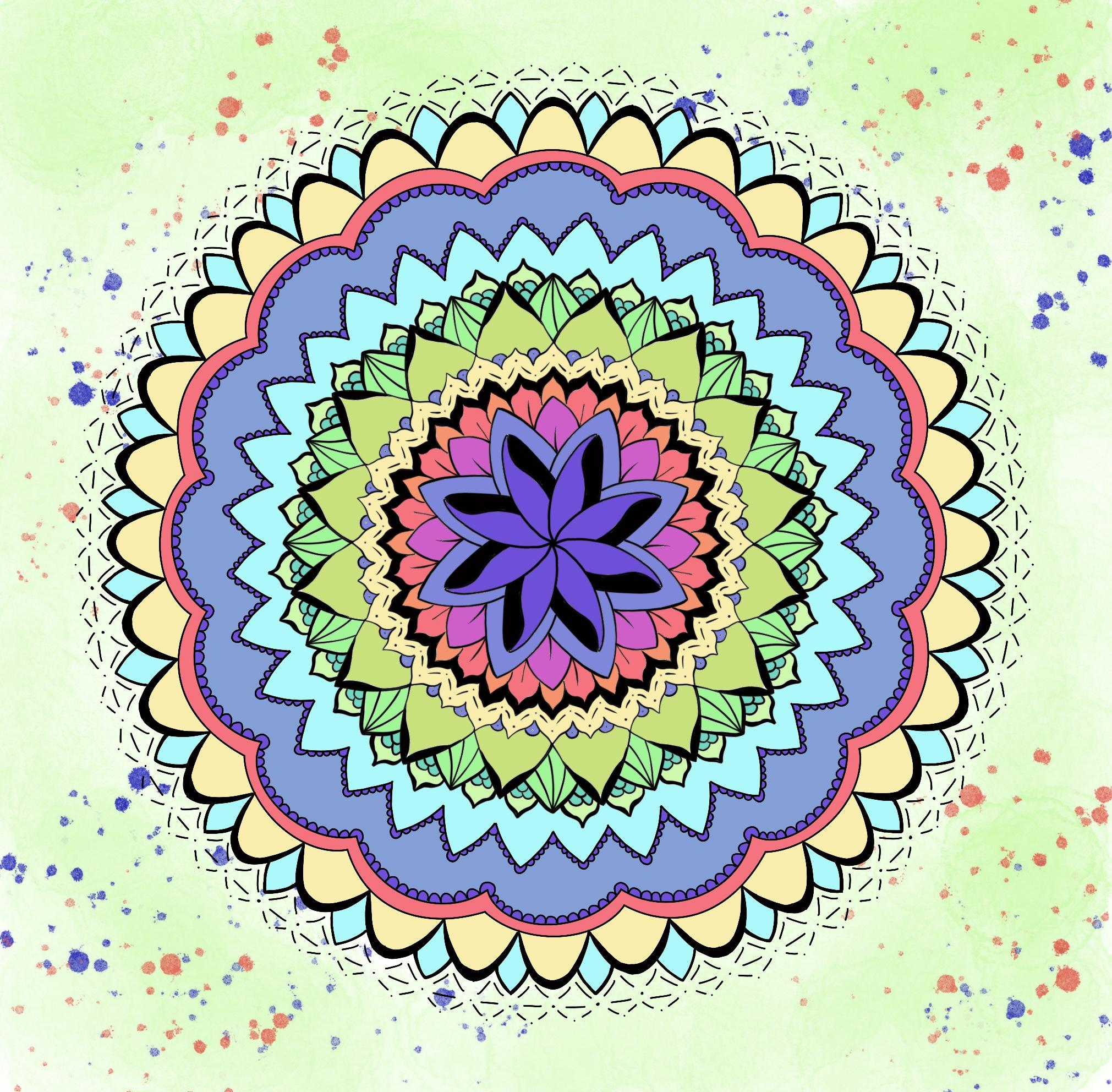 Work-Life-Balance Mandala