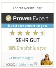 Kundenbewertung Hypnose Eugendorf bei Salzburg